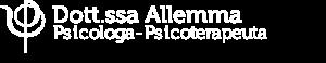 Logo Maria Teresa Allemma Psicologa Psicoterapeuta bianco