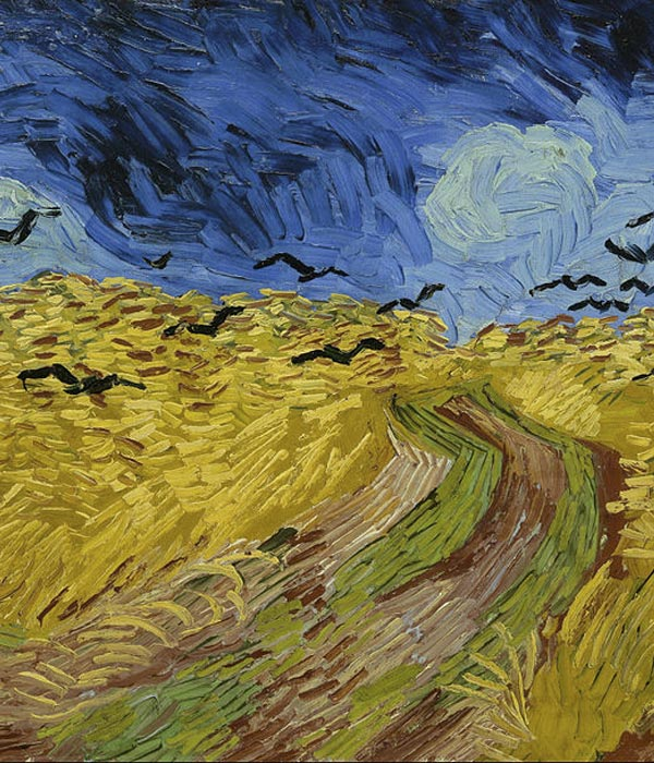 Affrontare il lutto - Campi di grano Van Gogh